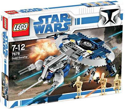 Lego Star Wars The Clone Wars Droid Gunship Exclusive Set