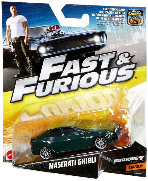 Maserati Ghibli Price >> The Fast and the Furious Furious 7 Maserati Ghibli Diecast Car 1932 Mattel Toys - ToyWiz