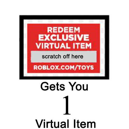 roblox redeem code virtual item