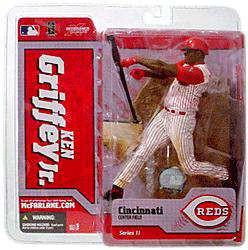 ef4dc9683b McFarlane Toys MLB Cincinnati Reds Sports Picks Series 11 Ken Griffey Jr.  Action Figure [