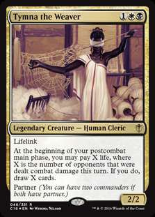 Magic The Gathering Commander 2016 Single Card Rare Tymna The Weaver