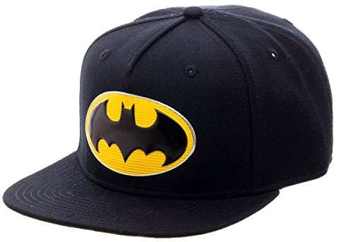 793eef35d DC Batman Batman Logo Snapback Cap Apparel Bioworld - ToyWiz