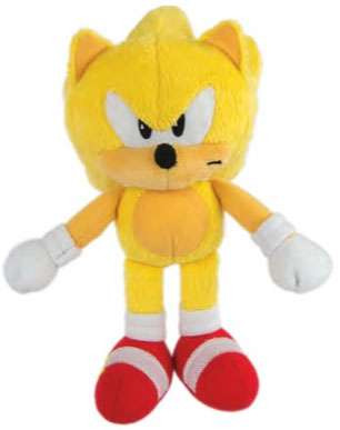 Sonic The Hedgehog Super Sonic 8 Plush Classic Tomy Inc Toywiz