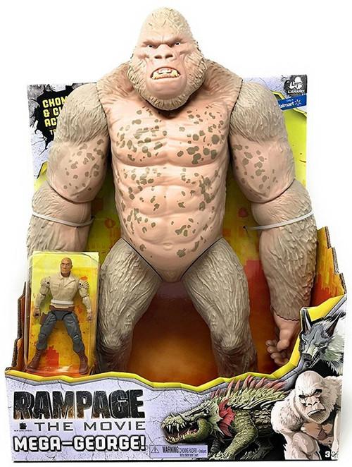 Rampage The Movie Mega George 16 Figure Lanard Toywiz