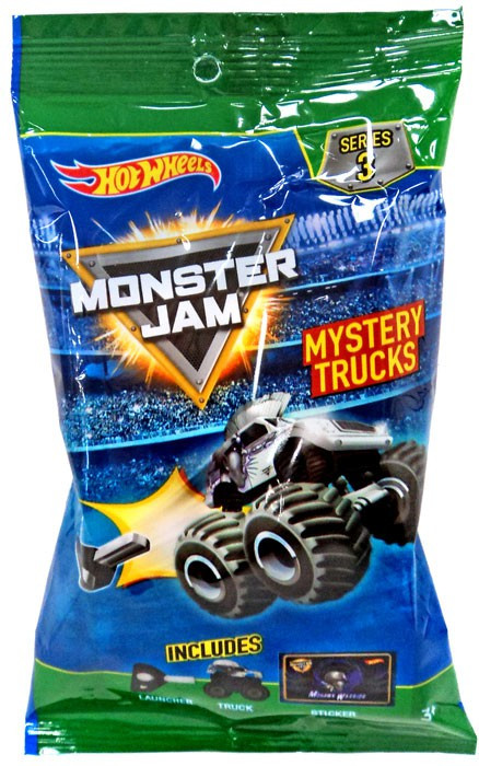 Hot Wheels Monster Jam Series 3 Mystery Trucks 164 Mystery Pack