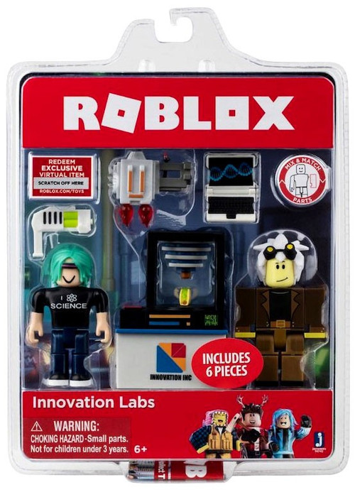 Roblox Innovation Labs 3 Action Figure 2-Pack Jazwares ...
