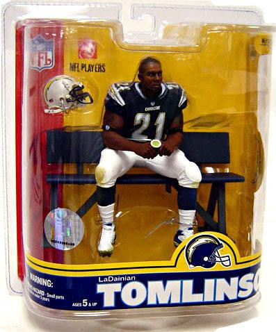 new style 99e15 84181 McFarlane Toys NFL San Diego Chargers Sports Picks Series 16 LaDainian  Tomlinson Action Figure [Blue Jersey]