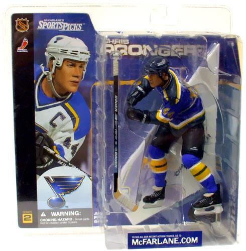 McFarlane Toys NHL St. Louis Blues Sports Picks Series 2 Chris Pronger Action  Figure Blue Jersey Variant - ToyWiz 56b2aadad