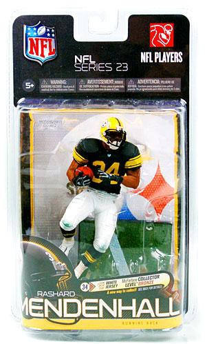 e431967f4 McFarlane Toys NFL Pittsburgh Steelers Sports Picks Series 23 Rashard  Mendenhall Exclusive Action Figure [Retro