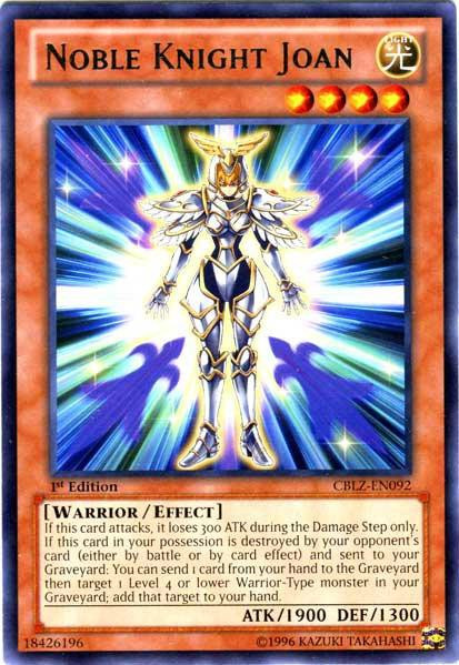 Cblz Yugioh Single Joan Cosmo Blazer Knight Rare Noble Zexal Card 5ARjL4