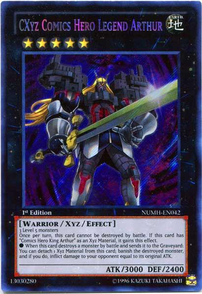 Yugioh Number Hunters Single Card Secret Rare Cxyz Comics