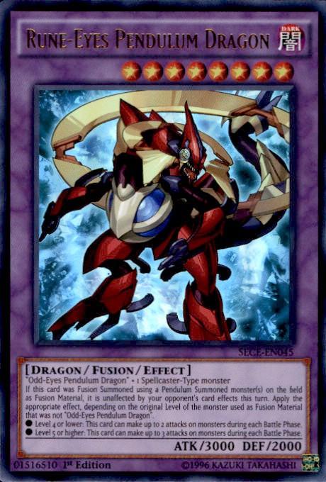 Free Home Phone Service >> YuGiOh Secrets of Eternity Single Card Ultra Rare Rune-Eyes Pendulum Dragon SECE-EN045 - ToyWiz