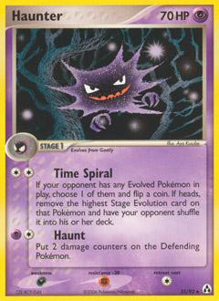 Pokemon EX Legend Maker Single Card Uncommon Haunter 35 - ToyWiz