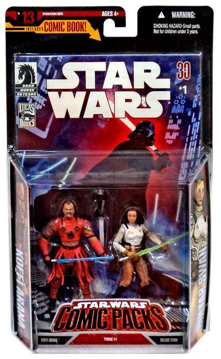 Is Saturday A Business Day For Ups >> Star Wars Expanded Universe Comic Packs 2007 Bultar Swan Koffi Arana 3.75 Action Figure 2-Pack ...