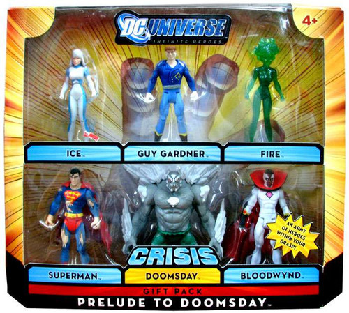 Dc Universe Crisis Infinite Heroes Prelude To Doomsday Exclusive