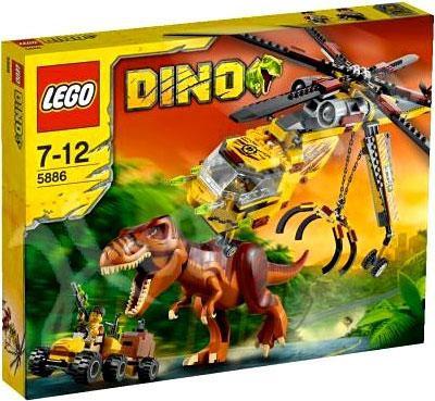 Lego Dino T Rex Hunter Set 5886 Toywiz