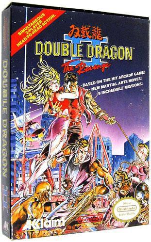Capcom Nintendo Nes Double Dragon Ii The Revenge Video Game