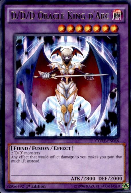 Yugioh Clash Of Rebellions Single Card Rare Ddd Oracle