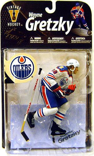 san francisco 8f469 cb9e4 McFarlane Toys NHL Edmonton Oilers Sports Picks Legends Series 8 Wayne  Gretzky Action Figure [White Jersey Variant]