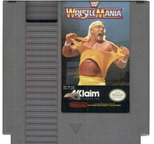 WWE Wrestling WWF NES Played Games WWF Wrestlemania NES