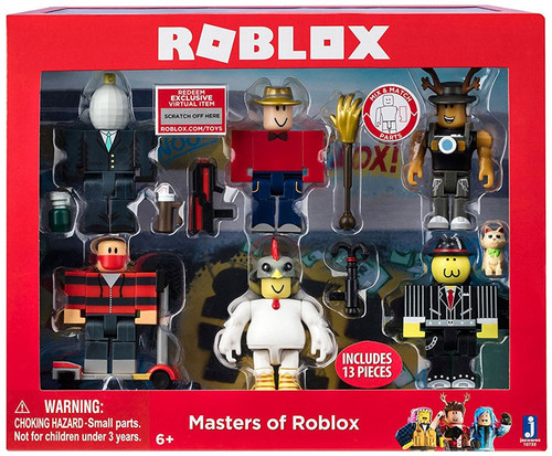 Roblox Masters of Roblox Action Figure 6-Pack Jazwares ...