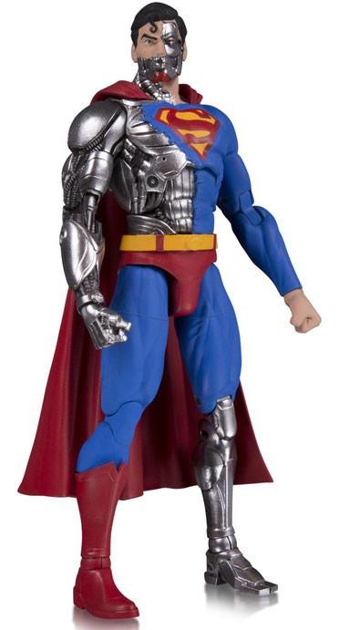 dc dc essentials cyborg superman 6 action figure dc