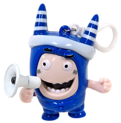 Oddbods Pogo 4-Inch Backpack Clip [with Sound]
