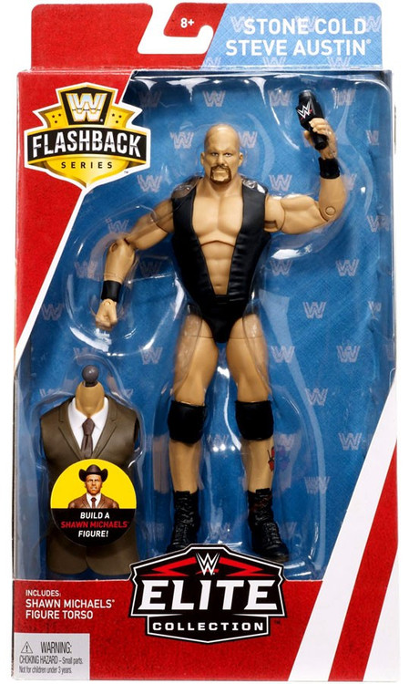 "WWE Defining Moments Elite Stone Cold Steve Austin 6/"" Action Figure"