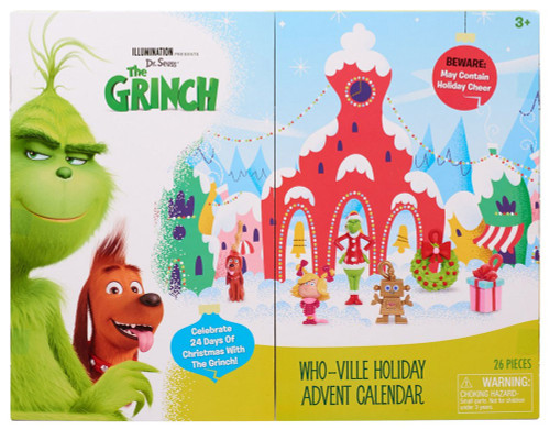 dr seuss the grinch 2018 who ville holiday exclusive. Black Bedroom Furniture Sets. Home Design Ideas