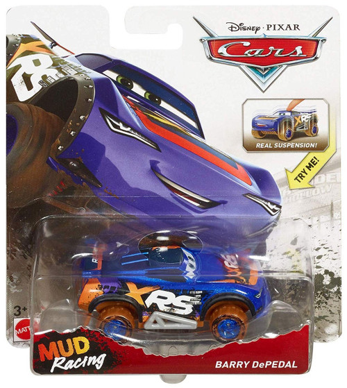 Disney Pixar Cars Cars 3 Xrs Mud Racing Barry Depedal Diecast