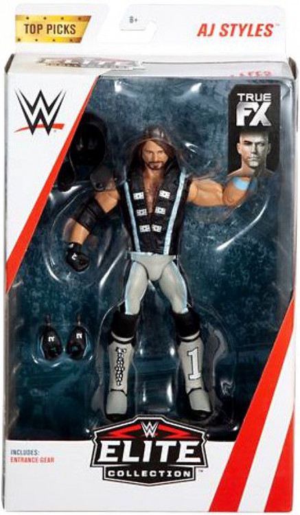 wwe wrestling elite collection top talents 2019 aj styles