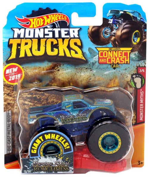 Pre Owned Trucks >> Hot Wheels Monster Trucks Monster Myths Nessie-Sary