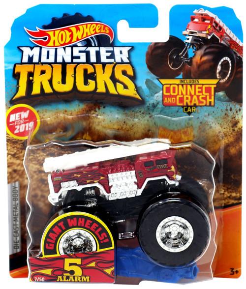 Car Brands Starting With P >> Hot Wheels Monster Trucks Sick Stuff 5 Alarm 164 Die-Cast Car Mattel Toys - ToyWiz