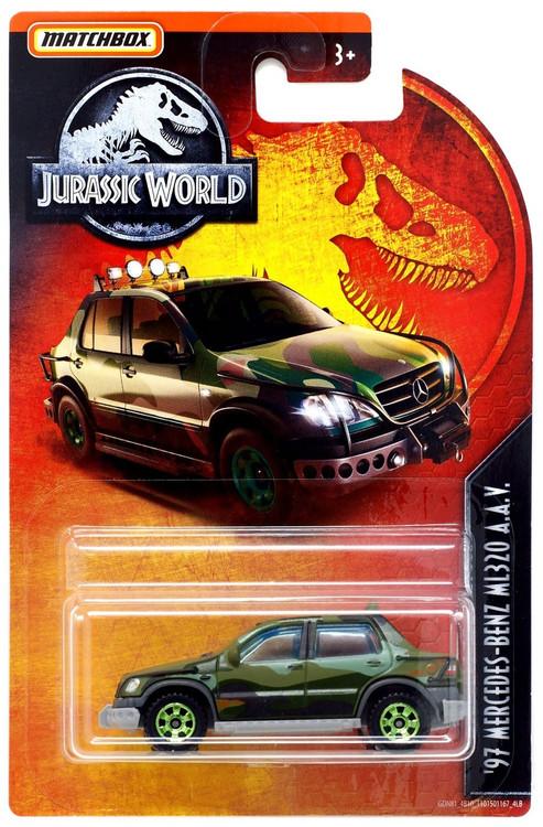 Mercedes Benz Pre Owned >> Jurassic World Matchbox 97 Mercedes-Benz ML320 A.A.V. 164 ...