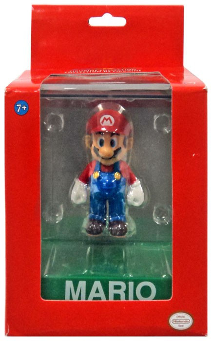 Super Mario Bros Wii Mario 4 Vinyl Figure Damaged Package