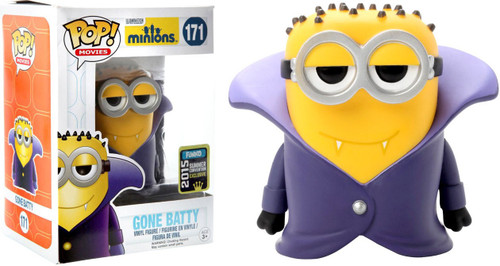 Despicable Me Minions Movie Funko POP! Movies Gone Batty Exclusive Vinyl  Figure #171 [Damaged Package]