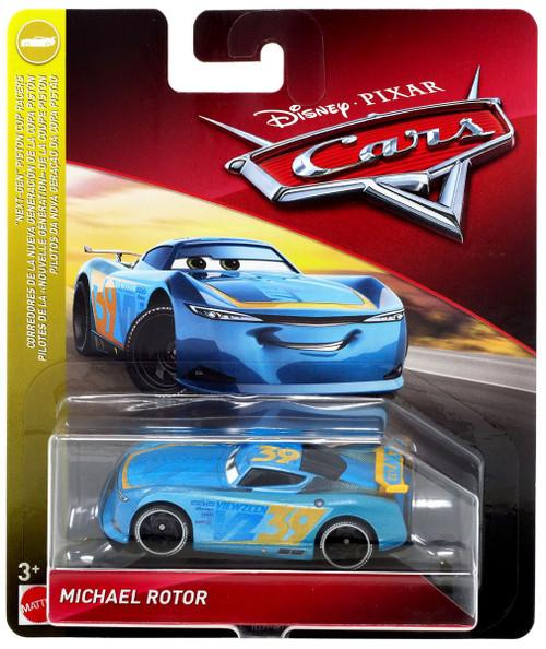 Car Brands Starting With P >> Disney Pixar Cars Cars 3 Next-Gen Piston Cup Racers Michael Rotor Diecast Car Mattel Toys - ToyWiz