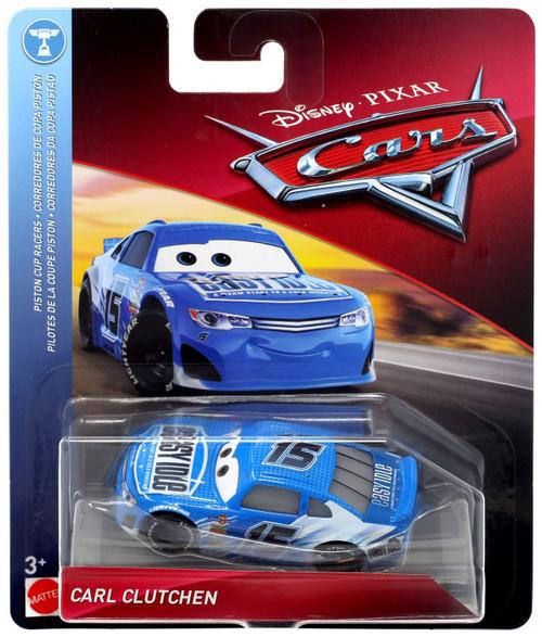 Free Home Phone Service >> Disney Pixar Cars Cars 3 Piston Cup Racers Carl Clutchen 155 Diecast Car Mattel Toys - ToyWiz