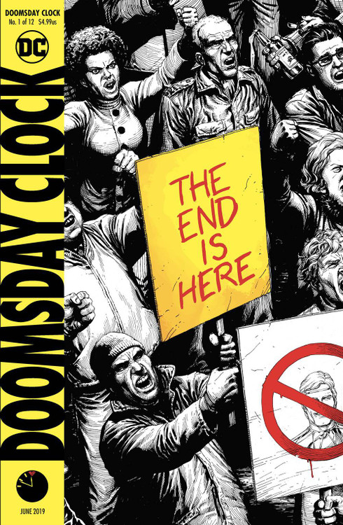 Dc Doomsday Clock Comic Book 1 Final Printing Dc Comics Toywiz