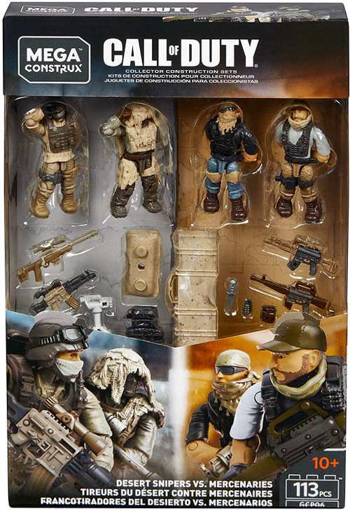 Free Home Phone Service >> Call of Duty Mega Construx Desert Snipers vs. Mercenaries ...