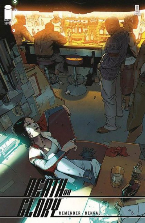 Image Comics 2019 Death or Glory #6 Cover A