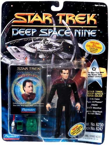 Star Trek Deep Space 9 Q Action Figure Playmates - ToyWiz