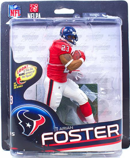 wholesale dealer 8d2bb 0a148 McFarlane Toys NFL Houston Texans Sports Picks Series 32 Arian Foster  Action Figure [Red Jersey]