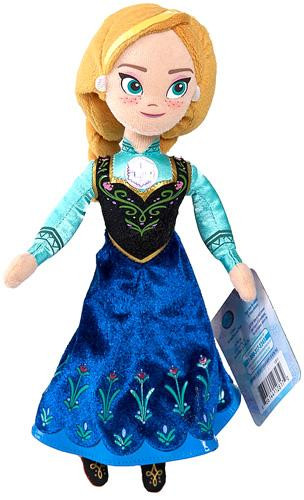Disney Frozen Talking Bean Bag Anna 8 Plush Doll Just Play