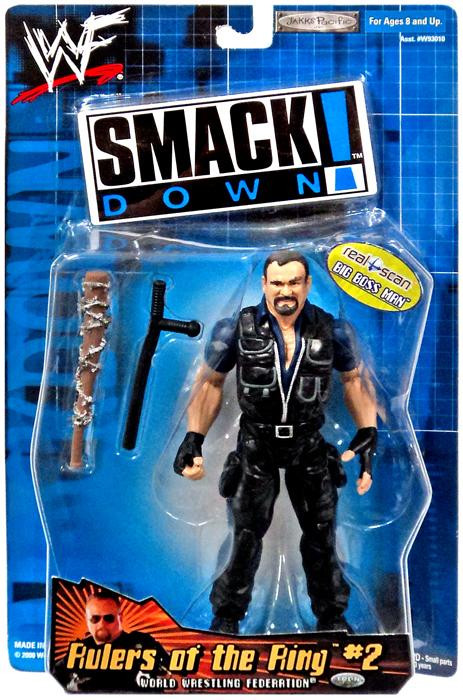 Wwe Wrestling Smack Down Rulers Of The Ring 2 Big Boss Man Action