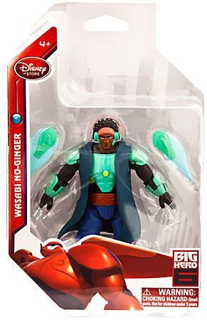 Disney Big Hero 6 Wasabi No-Ginger Exclusive 4 Action Figure