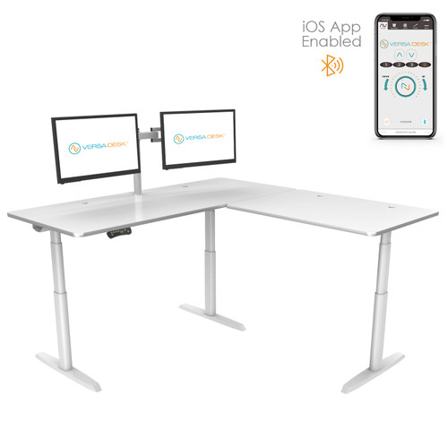 PowerLift®️ L-Shaped Standing Desk
