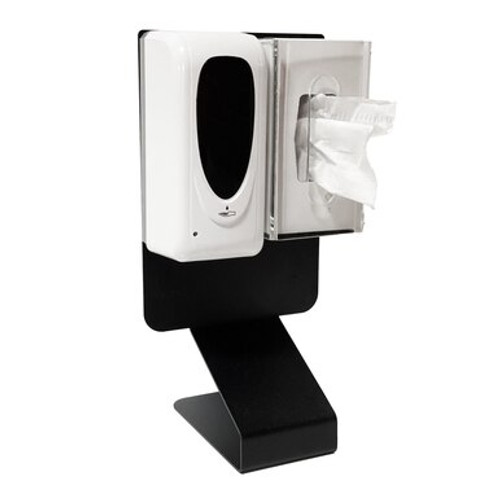 Countertop Sanitizer Dispenser With Tissue Box