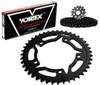 Vortex CK5160 Chain and Sprocket Kit GFRS SUZ GSX-R1000 01-06 (1D,STL)