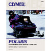 Clymer S833 Service Shop Repair Manual Polaris Snowmobile 90-95